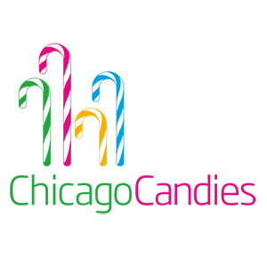 logo for a client with a boutique candy store in Chicago